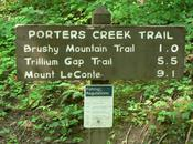 Week-End Dans Smokies: Porter Creek Trail