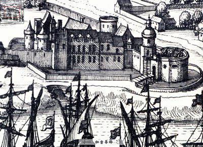 Château Trompette au XV° siècle