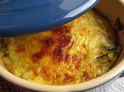 Gratins courgettes ricotta