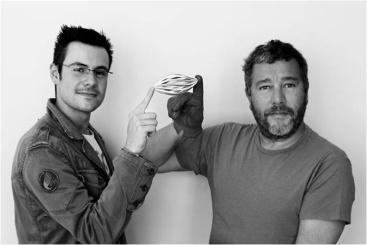 Roland Kreiter et Philippe Starck