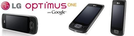 LG Optimus One : les spécifications techniques