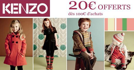 Kenzo Kids Collection automne hiver 2010 et promo Paperblog