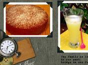 Spécial Kippour gâteau Z'amandes citronnade/Special Kippur Easy Almond Cake home-made lemonade