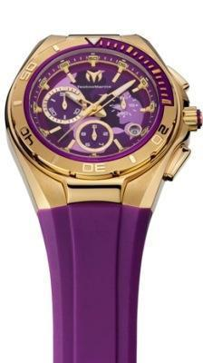Technomarine Cruise Steel Camouflage Royal Purple
