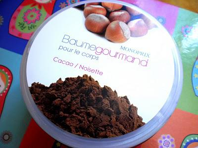 Review...Baume pour le corps ultra gourmand au cacao