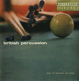LE LONDON ALL STAR - British Percussion (1965)