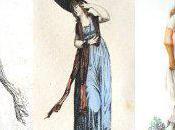 petite maîtresse invisible Chapeaux féminins première moitié XIXe siècle (casques capotes).