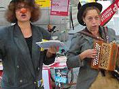 l'assurance-chômage: artistes suisses mobilisent