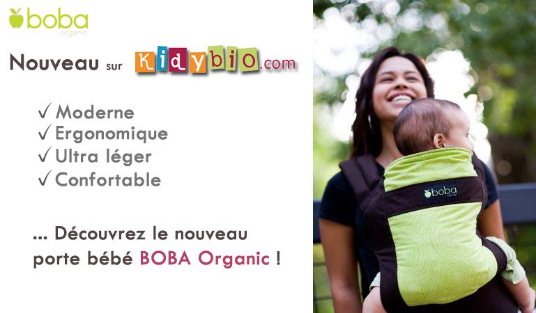 Découvrez Le Nouveau Porte Bébé Ergonomique BOBA Organic Paperblog - Boba porte bébé