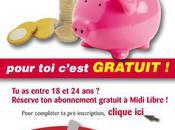 Abonnements gratuits journal Midi Libre, L'Indépendant Centre Presse
