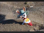 Lapin crétin dans sable…