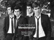 Quatuors Menselssohn Modigliani grâce élégance
