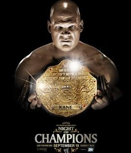 Kane à l'affiche de Night of Champions 2010