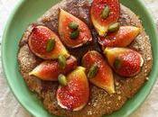 Tartelettes figue/pistache pâte sablée farine sarrasin