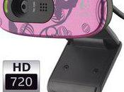 Webcam Logitech permet passer appels vidéos comme Skype...