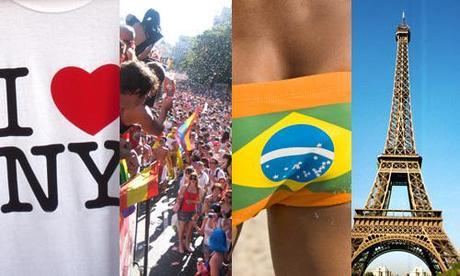 Classement Tourisme LGBT 2010 : quelle est la destination la plus sexy ?