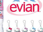 Evian Hello kitty