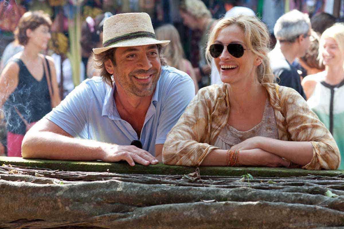 Julia Roberts et Javier Bardem. Sony Pictures Releasing France