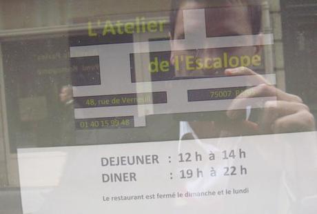 20100927 Atelier Escalope horaires LAtelier de lEscalope (ChrisoScope)
