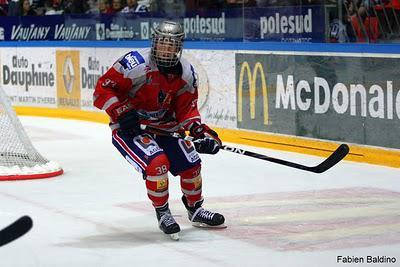 Hockey-sur-Glace Le jeune de la semaine : Joris Bedin