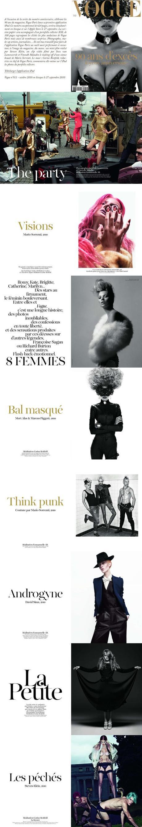 Happy B-Day 'Vogue' | 90 ans de Mode