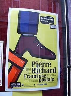 Pierre Richard dans Franchise postale