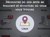 Facebook Places maintenant disponible France