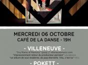 veux nouvel album Villeneuve? Viens Café Danse!