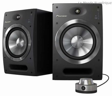 S-DJ08 et S-DJ05, deux enceintes Pioneer pour les DJ et les producteurs de musique