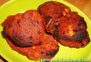 Mon Poulet Tandoori Et Ma Recette De La Poudre Tandoori Voyage - Cuisine indienne poulet tandoori