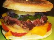 crocks-muffins Regent's Park kefta, légumes croquants (tomates, poivrons,oignons), fromage herbes sauce spéciale quand british rencontre l'orient