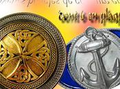 Nouvelles boucles ceinture celtiques marines