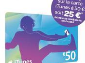 Promotions cartes iTunes chez Carrefour Géant Casino