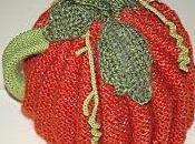 housse citrouille tricotée