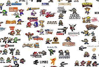 100 personnages de jeux vid o megaman is s d couvrir. Black Bedroom Furniture Sets. Home Design Ideas
