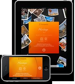 Fotopedia Heritage sur iPad