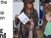 Jack Sparrow organiserie mutinerie dans école Londres
