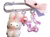 Idée cadeau noel n°113 broche fantaisie Hello Kitty