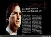 Portrait Steve Jobs dans l'émission Game Changers Bloomberg