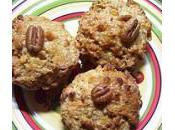 Recette muffins noix. donne portions