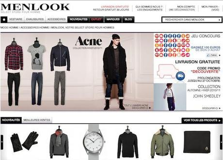 Post image for Menlook, nouvel e-shop pour homme (Acne, Melinda Gloss, Paul & Joe, Opening Ceremony…)