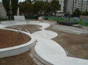Skatepark Paris 20ème travaux
