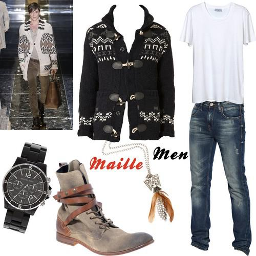 Sélection Mode Homme : Maille Men in boots
