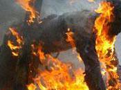 Foumban homme brûlé