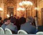 Pierre-Marie Vidal Acteur Public (de face), François Zimeray Ambassadeur Droits de l'homme, André Santini Maire Issy les Moulineaux...