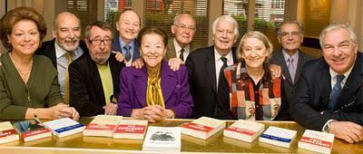 Les membres de l'Académie Goncourt en 2010, photographie