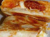 interblogs Naans chorizo mozzarella