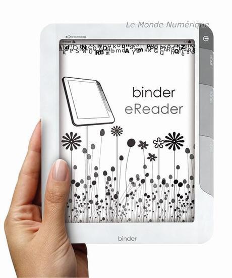 « FnacBook »,  Binder eReader, Sagem Wireless entre dans la danse des lecteurs de livres numériques