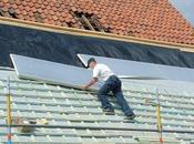 Isolation toit méthode sarking
