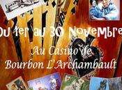 Bouquet d'Art expose Casino BOURBON L'ARCHAMBAULT (03).